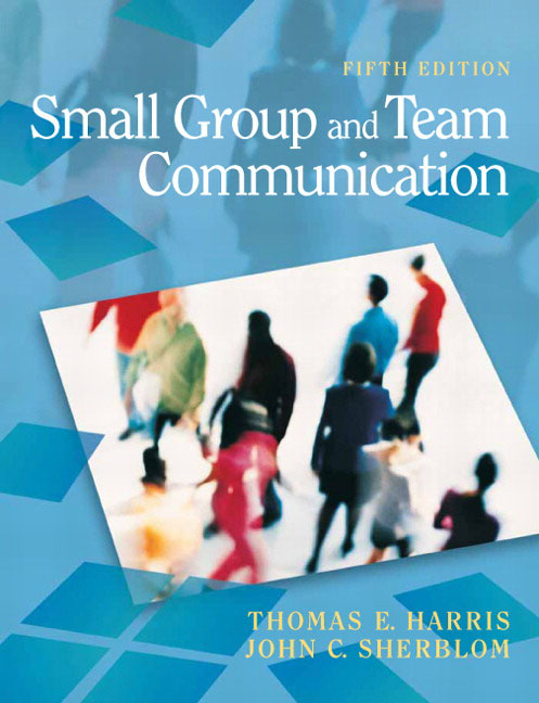 interpersonal and small group communication 386 interpersonal relations and group processes incorrect behaviour (eg trying to write notes in a lecture before we have understood properly what is being said.