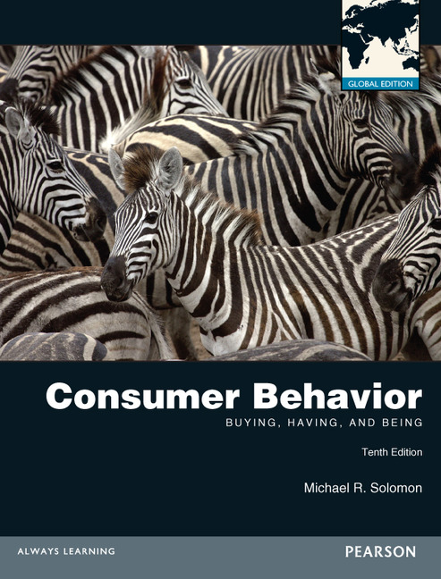 solomon consumer behaviour essay The consumer decision making is a complex process with involves all the stages from problem recognition to post purchase activities all the consumers have their own needs in their daily lives and these needs make them make different decisions these decisions can be complex depending on the.