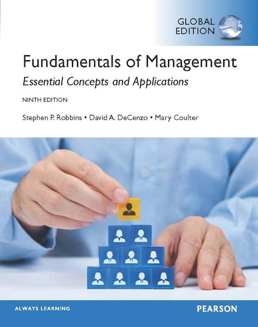 fundamentals of management 8e robbins et Preface welcome to the seventh canadian edition of fundamentals of management, by stephen p robbins, david a decenzo, mary coulter, and ian anderson this edition continues the.