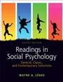 Readings in Social Psychology