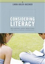 Considering Literacy - Linda Adler-Kassner - 9780321113382 - English Composition - Freshman Composition (103)