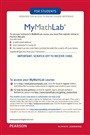 MyLab Math -- Glue-in Access Card