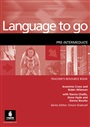 Language to go Pre-intermediate Teacher's Resource Book - Araminta Crace - 9780582506589 - General English Courses - Adult (122)