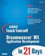 Sams Teach Yourself Macromedia Dreamweaver MX Application Development in 21 Days - John Ray - 9780672324031 - Internet & Web-Design - Dreamweaver (145)