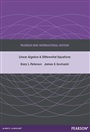 Linear Algebra and Differential Equations: Pearson New International Edition