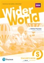 Wider World Level Starter Teacher's Book with DVD-ROM Pack - Sandy Zervas - 9781292178820 - General English Courses - Lower Secondary (133)