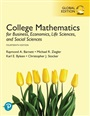 College Mathematics for Business, Economics, Life Sciences, and Social Sciences, Global Edition