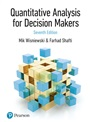 Quantitative Analysis for Decision Makers, 7th Edition (formerly known as Quantitative Methods for Decision Makers) - Mik Wisniewski - 9781292276618 - Decision Sciences - Business Statistics/Quantitative Methods (211)